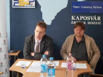 Sajtótájékoztató a donneri-cseri közállapotokról: az Együtt közvélemény-kutatással folytatja a városrészek helyzetének feltárását