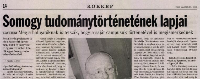 Leszámolás egy legendával: egyelőre semmi nem támasztja alá a Rosta István professzor által előadott történetet…