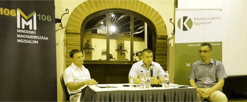 """Összeálltak, mint lovak a melegben: egy kis """"baloldalipártozás"""" erejéig egymásra talált a Kaposváriakért Egyesület és a Fidesz-propaganda"""