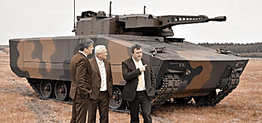 Na, hol fognak szupermodern német páncélozott harcjárműveket gyártani? Kaposváron? Nem, Zalaegerszegen!