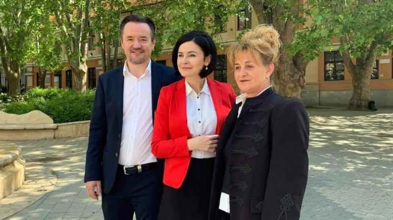 Kunhalmi Ágnes, az MSZP társelnöke bejelentette Kaposváron: Pintér Attilát jelöli párt az előválasztásra