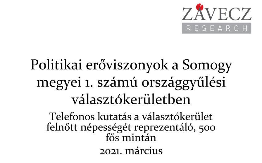 Itt a Závecz közvélemény-kutató Kaposvárra vonatkozó teljes mérése: minden összevetésben Pintér Attila a legesélyesebb az előválasztáson